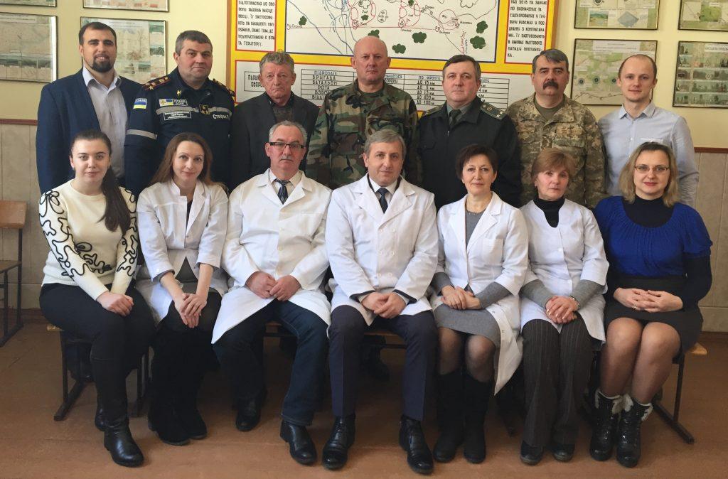 Медицини катастроф та військової медицини
