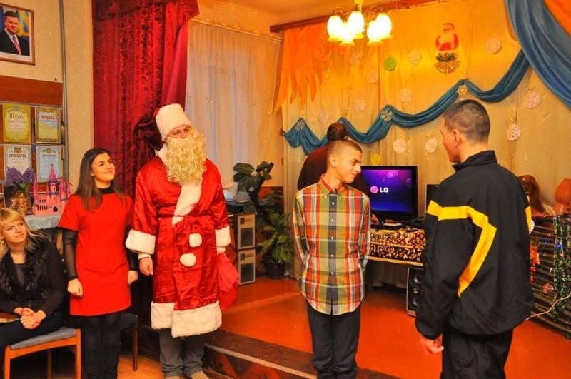 День Святого Миколая у спеціалізованому будинку-інтернаті села Магала