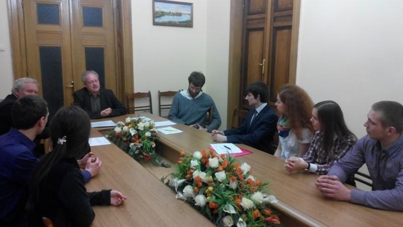 БДМУ відвідала делегація з Університету м. Любек