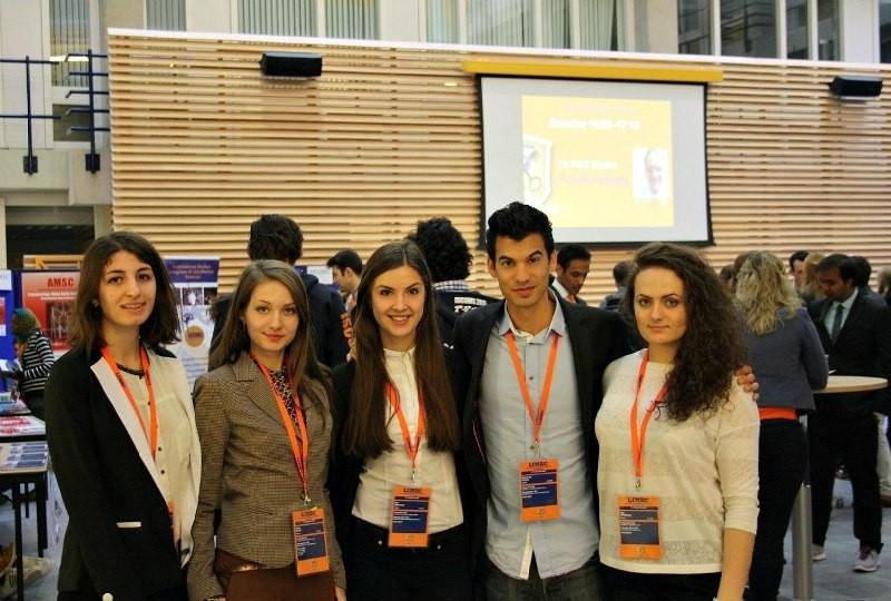 Студенти БДМУ взяли участь у конференції у  м. Лейден