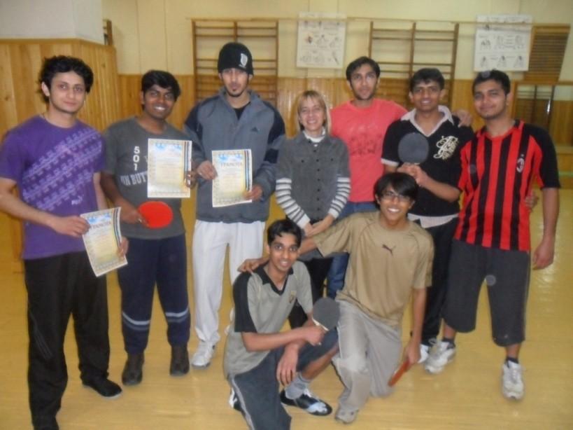 Кубок університету з настільного тенісу серед іноземних студентів