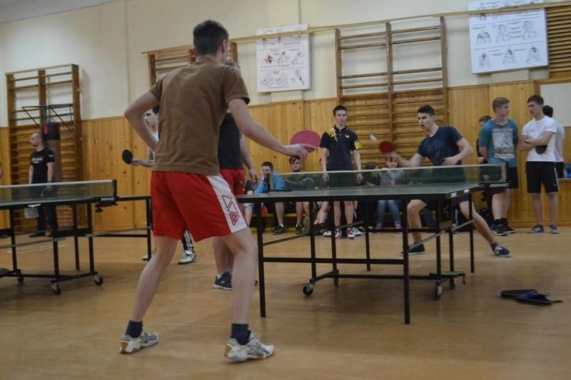 Завершилися змагання першості БДМУ з настільного тенісу