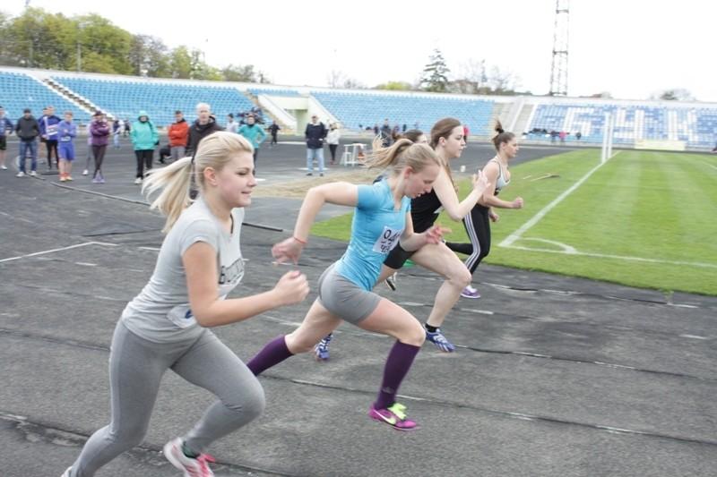 Відбулися Обласні Спортивні Ігри серед студентів міста з легкої атлетики