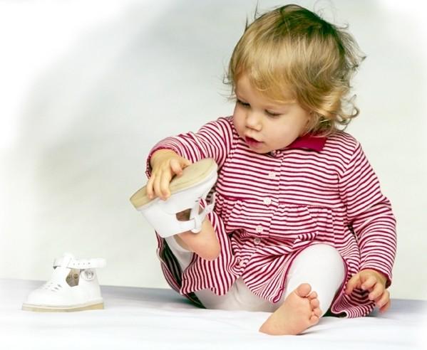 Вимоги до вибору взуття у дітей