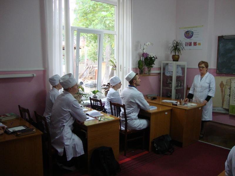 На кафедрі медичної біології провели виховні заходи до Дня захисника України