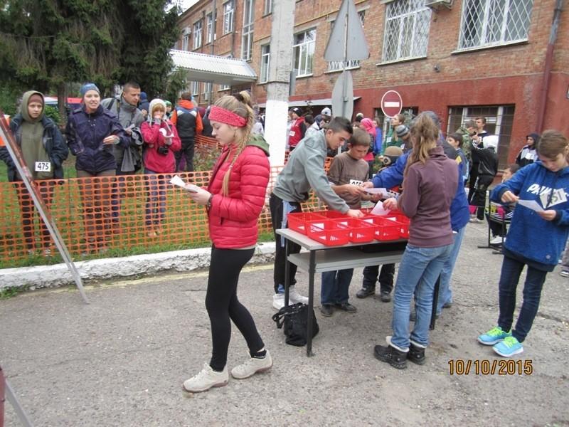 Студенти взяли участь у Чемпіонаті зі спортивного орієнтування