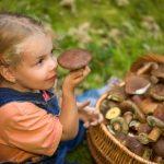 Отруєння грибами в дітей