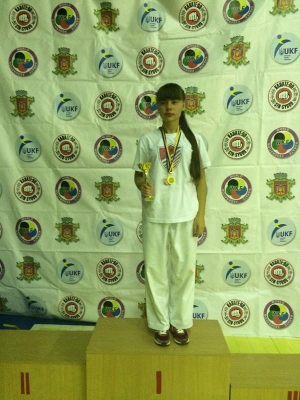 Студентка БДМУ отримала титул чемпіона області з карате