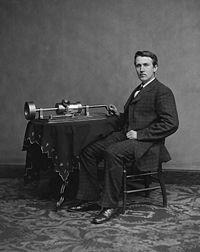 Фонограф – початок ери звукозапису