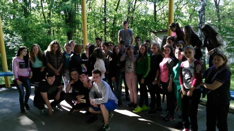 У таборі «Здоров'я» провели Олімпійське свято