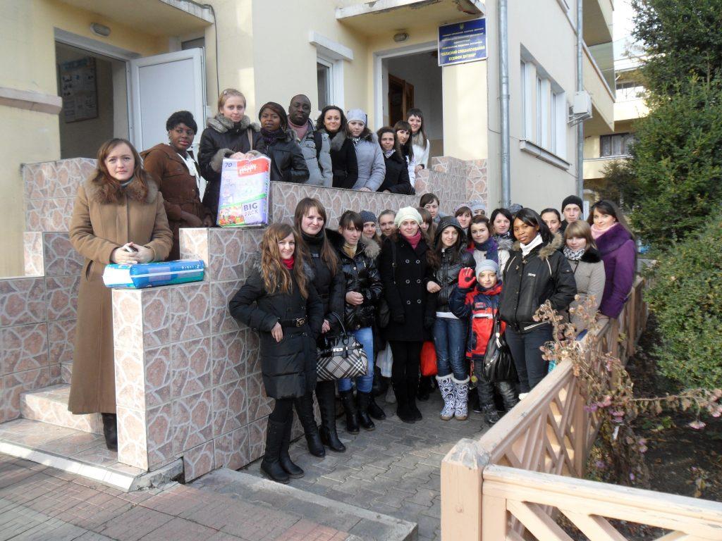 Студенти БДМУ відвідали Будинок дитини
