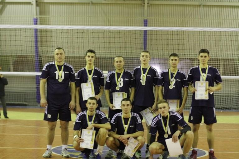 Збірна БДМУ з волейболу – бронзовий призер кубку міста