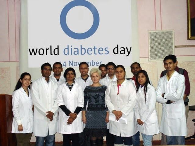 Об'єднаємося у боротьбі з цукровим діабетом!