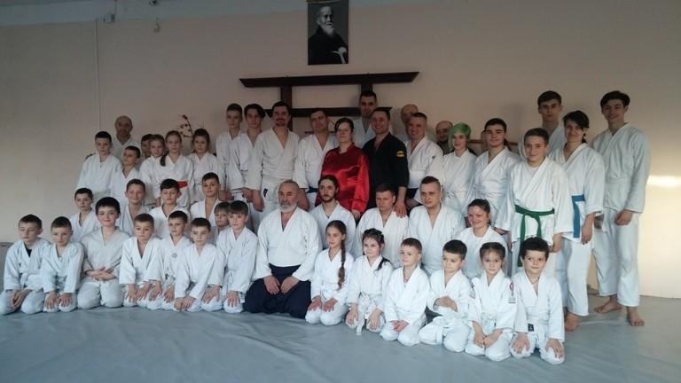 В Чернівцях пройшов Міжнародний семінар з айкідо