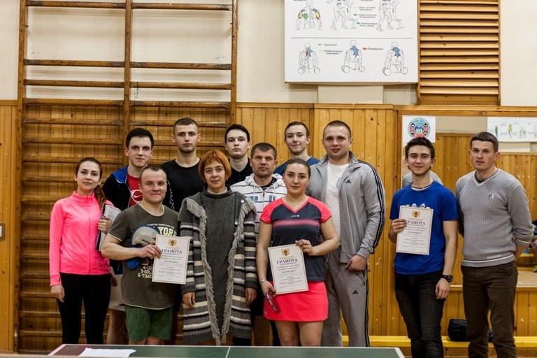 В БДМУ пройшли змагання з настільного тенісу