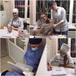 Самостійна робота студентів на виробничій практиці (догляд за хворими хірургічного профілю)