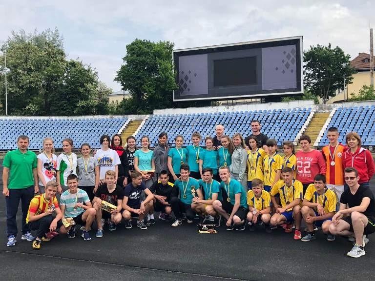 Спортклуб БДМУ зорганізував естафети для школярів міста