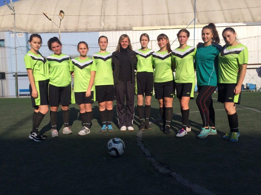 Жіноча збірна БДМУ з футболу – в трійці переможців Обласних спортивних ігор