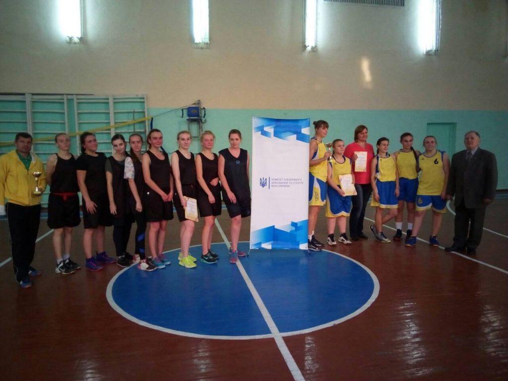 Збірна БДМУ по баскетболу – у трійці лідерів Обласних спортивних змагань