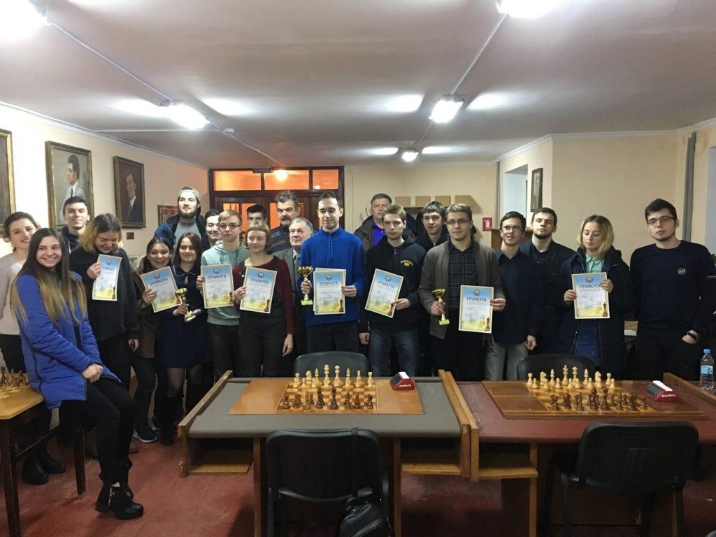 Збірна команда БДМУ з шахів – у трійці переможців обласних ігор