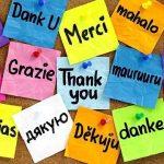 11 січня – Всесвітній день «Дякую»