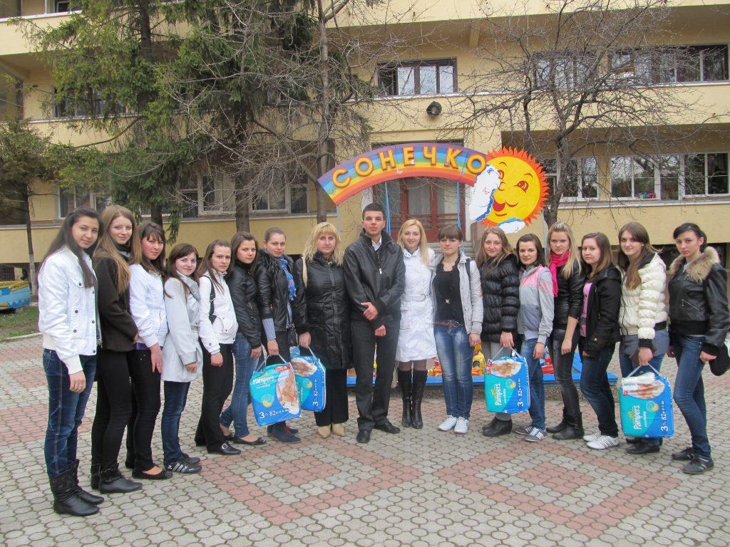 Студенти-медики організували благодійну акцію для дітей-інвалідів