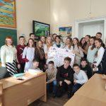 Студенти БДМУ провели акцію для школярів «Курити – це не модно!»