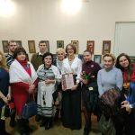 Викладач БДМУ презентувала виставку вишиваних робіт