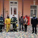В БДМУ проводили навчання з цивільного захисту