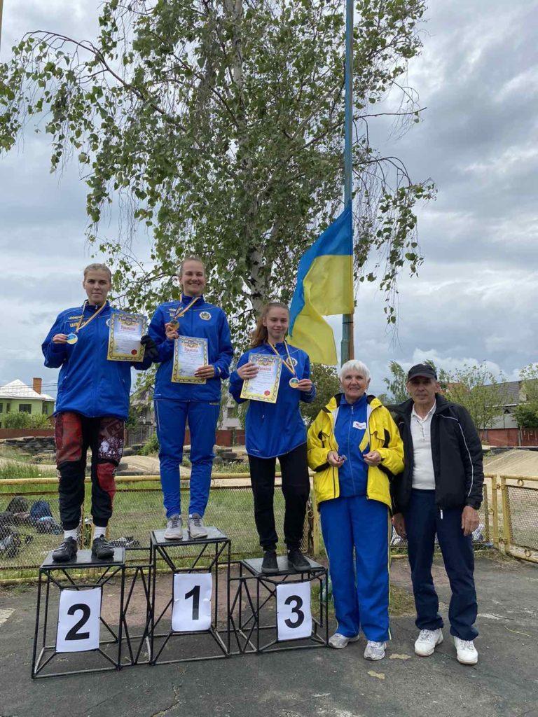 Студентка БДМУ – у трійці лідерів Чемпіонату України з велоспорту