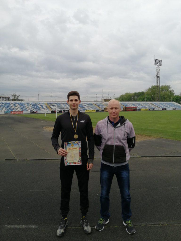 Студент БДМУ - чемпіон області з легкої атлетики