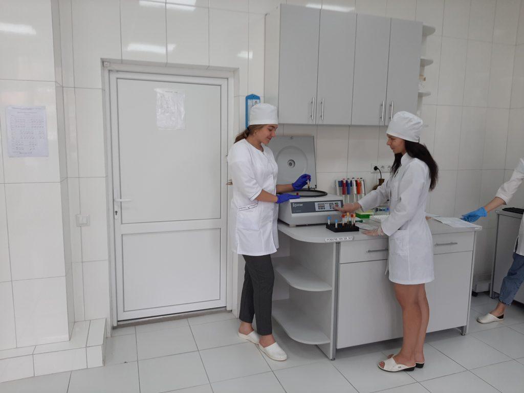 Виробнича практика в навчально-науковій лабораторії БДМУ