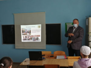 Фахівці БДМУ розповіли студентам медичного коледжу «Монада» про навчання в медичному університеті