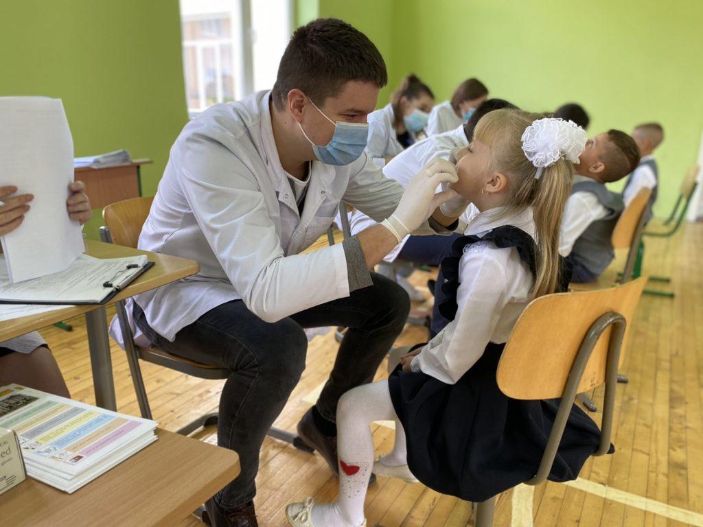 Бережемо стоматологічне здоров'я юних буковинців